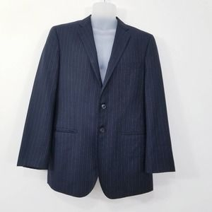 SAKS 5th AVE Loro Piana Wool Pinstripe Blazer